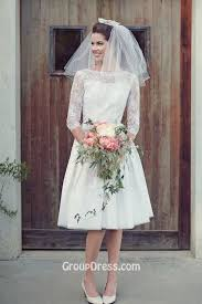 simple wedding dresses uk floral lace sheer quarter sleeve simple wedding dress