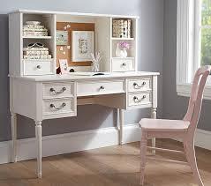 Tall Writing Desk by Kids Room Furniture Pottery Barn Blythe Desk U0026 Tall Hutch White