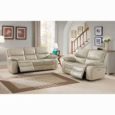 ivory leather reclining sofa luca ivory top grain leather power reclining sofa and loveseat