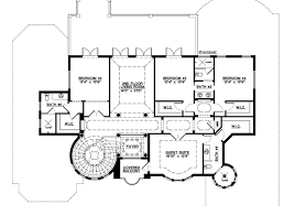 Mediterranean House Plans by Mediterranean Style House Plan 5 Beds 5 50 Baths 6045 Sq Ft Plan