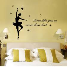bedroom vinyl sticker sport figure skating club sports woman font full size of beautiful dance girl proverbs wall sticker bedroom living room home decor waterproof removable