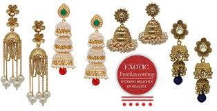 best earrings earrings that best go with anarkali simaaya fashions