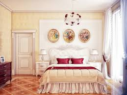 Red Bedroom Ideas by Cream Red Bedroom Scheme Interior Design Ideas