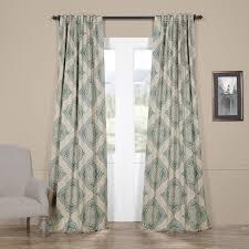 Gray And Teal Curtains Teal Blue Curtains Wayfair