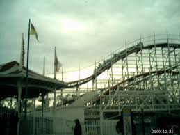 belmont parks wooden roller coaster 1926 san diego california