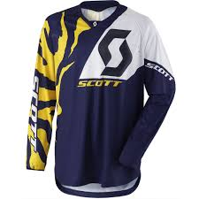 blue motocross gear scott 2017 350 race blue white jersey mxstore picks riding