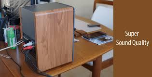 Review Bookshelf Speakers Best Edifier R1280t Powered Bookshelf Speakers Review