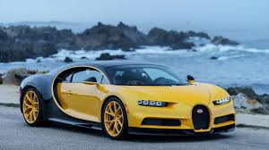 newest bugatti first bugatti chiron in the us delivered to owner at pebble beach