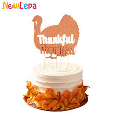 thanksgiving thankful cake topper friendsgiving turkey topper fall