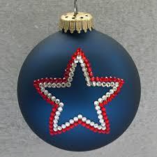 patriotic ribbon ornament tree ornaments depicting a