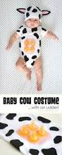 cheap halloween costumes for infants a simple diy baby cow costume with an udder make it and