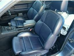 bmw blue interior bmw e36 coupe leather interior complete sport seats in blue