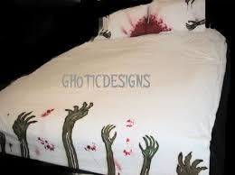 Zombie Bedroom Ideas 18 Geek Chic Bedspreads Comforters And Duvet Covers Homes And Hues