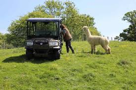 kubota first choice for cotswolds alpaca farm farming uk news