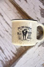 Coffe Mug by Take No Bull Coffee Mug Junk Gypsy Co