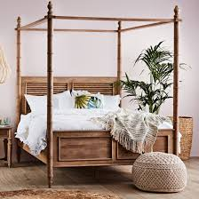 Hampton Bed Queen Canopy Bed