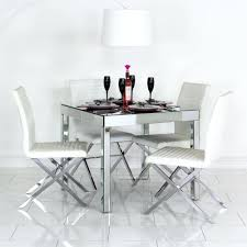 Mirror Dining Table by Mirrored Dining Room Set Home Design Ideas