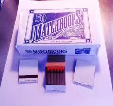 wedding matchbooks 100 white plain matches matchbooks wedding