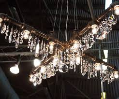 Industrial Chandelier Lighting Piping Chandelier
