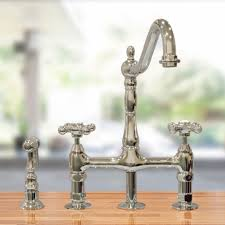 platinum wall mount vintage style kitchen faucets single handle platinum wall mount vintage style kitchen faucets single handle side sprayer pre rinse lever traditional