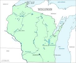 Map Of Northern Wisconsin by Wisconsin State Map Map Of Wisconsin And Information About The State