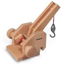 wooden truck fagus crane extension accessory basic wooden toy truck