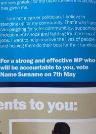 election 2015 u0027vote name surname u0027 east london tory u0027s campaign