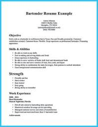 Bartender Resume Examples by Resume Sample Simple De9e2a60f The Simple Format Of Resume For Job