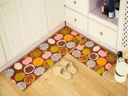 kchen tapeten modern 2 2pcs set anti slip kitchen mat for floor modern bathroom