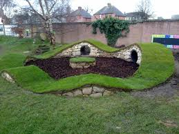 wicked cool hobbit like tunnels playground ideas pinterest