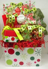 gift baskets christmas christmas dog gift basket toys treats