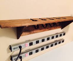 wall mounted charging station wall decoration ideas