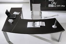 bureau angle design bureau d angle city arc wengé 206x100 200x60 cm design ivm