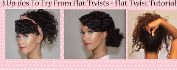 How To Do Flat Twist Hairstyles by Natural Hair Styles Global Couture Blog