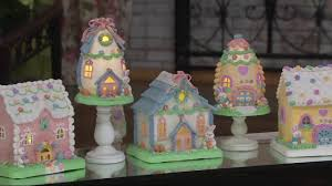 Qvc Home Decor Illuminated Easter House Or Easter Egg House By Valerie On Qvc