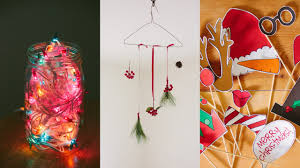 diy christmas decorations photo booth props youtube