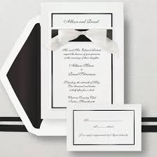Simplicity Wedding Invitation Classic And Simple Wedding Invitations