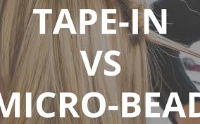 types of hair extensions different types of hair extensions comparing ins and micro bead