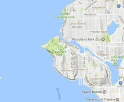 seattle map discovery park 8 best seattle maps images on seattle seattle map and