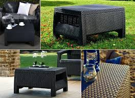 Wicker Patio Coffee Table Patio Coffee Table Solar Patio Table Patio Coffee Table With