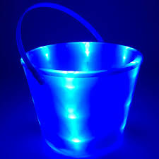 halloween light projector glowcity light up led buckets perfect for halloween trick or