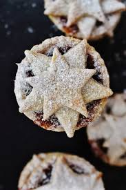 spiced clementine star topped mince pies christmas and new year