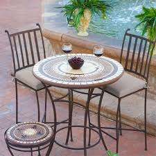 High Patio Chairs Furniture Ideas High Patio Set With Wicker Patio Furniture