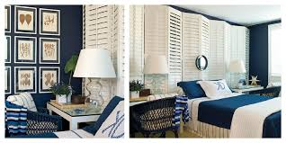 Blue And White Bedrooms Color Roundup Using Navy Blue In Interior Design The Colorful