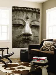Buddha Home Decor Statues Wall Murals Wall Murals Home Decor Ideas Great Buddha Statue