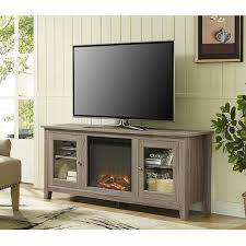Tv Stands With Bookshelves by Awesome Espresso Tv Stand With Fireplace Tv Console With Realistic