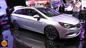 opel astra interior 2016 opel astra sports tourer exterior and interior iaa