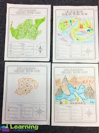 Map Scales Engaging Map Skills Activities Map Skills Cardinals And Scale