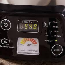 crock pot sales for black friday crock pot cook u0026 carry digital slow cooker with heat saver