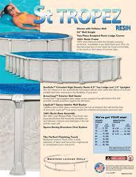 st tropez pool kits inground swimming pool kits pool warehouse